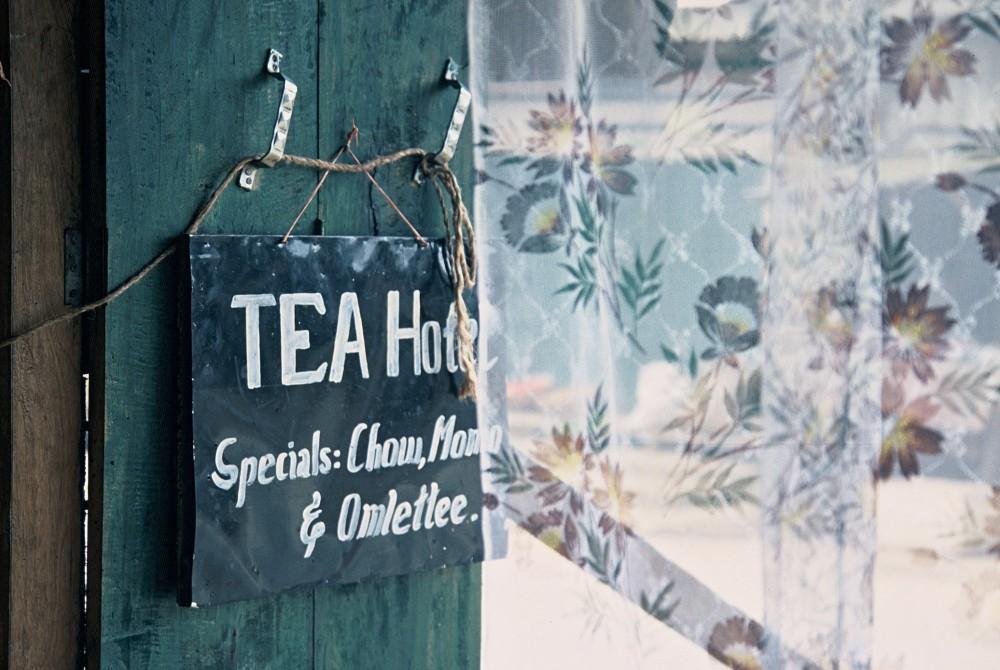 A tea shop on the road through Nagaland, India © Caroline Sylger Jones